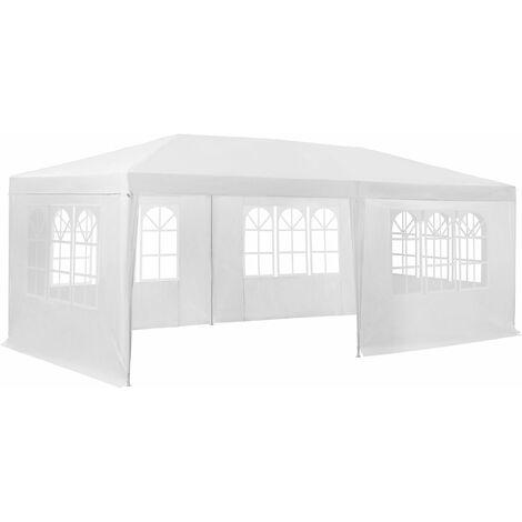Gazebo 6x3m with 5 side panels - garden gazebo, gazebo with sides, camping gazebo