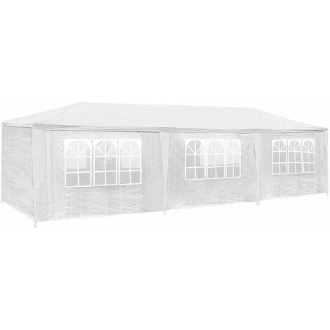 Gazebo 9x3m with 8 side panels - garden gazebo, gazebo with sides, camping gazebo