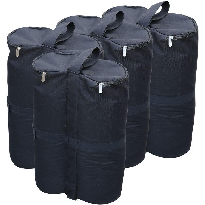 Gazebo ensemble de 4 sacs de sable pour poids au pied Pavilion