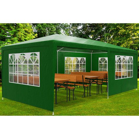 High Quality 3x3m 3x4m 3x6m Gazebo Marquee Garden Awning Party PE Tent Canopy