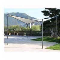 "GAZEBO IN METALLO A VELA ""OVAR"" PAPILLON 3,5X3,5MT"