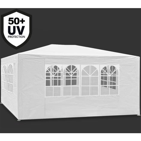Gazebo Maui 3x4m Garden Party Marquee Outdoor Awning Canopy Pavilion Tent Patio
