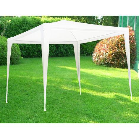Gazebo Tenda In Metallo Metri 3x2 Telo Impermeabile Per Campeggio