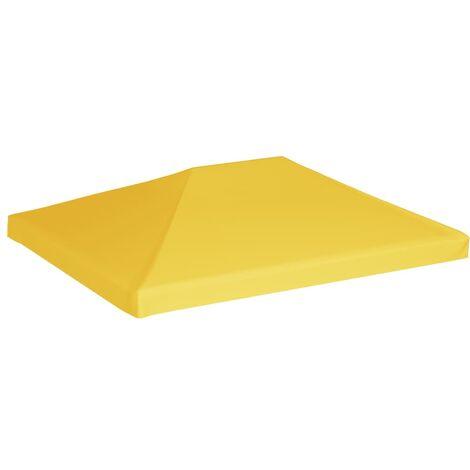 Gazebo Top Cover 270 g/m² 4x3 m Yellow