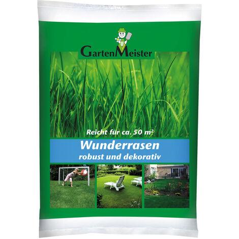 """main image of """"Gazon à semer haute qualité """"Miracle Lawn"""", 1 kg GartenMeister"""""""