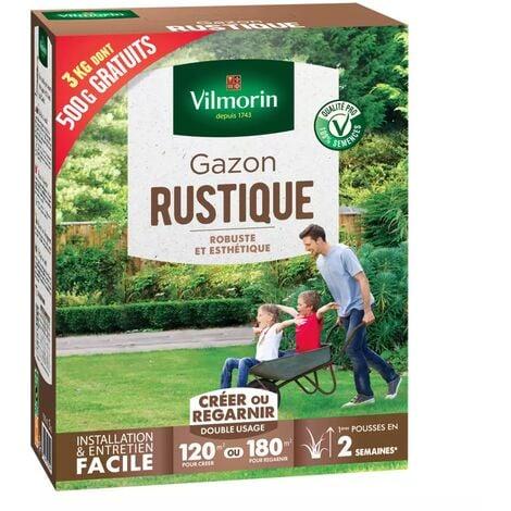 Gazon rustique - Boite de 3 kgs dont 500grs GRATUIT