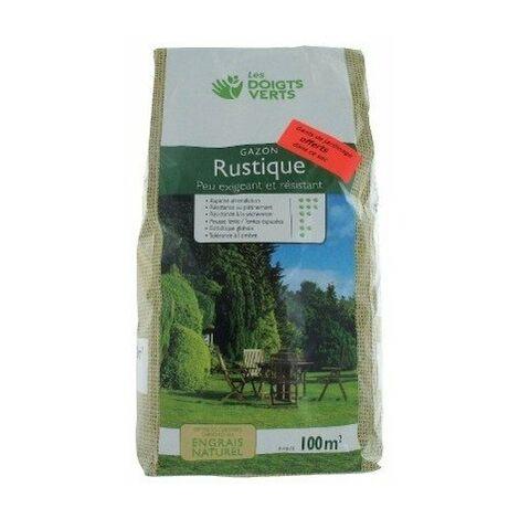 Gazon rustique sac 3 kg 100 m²
