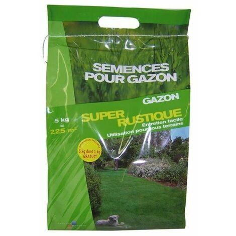 Gazon super rustique 4kgs+1 gratuit ref 511652