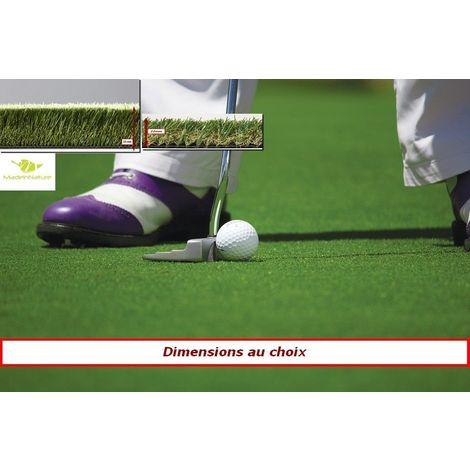 Gazon synthétique spécial green de golfs haut de gamme d'extérieur ou d'intérieur | dimensions aux choix | MadeInNature®