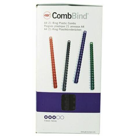 GBC Black 14mm Binding Comb 4028178 P100 - GB21664