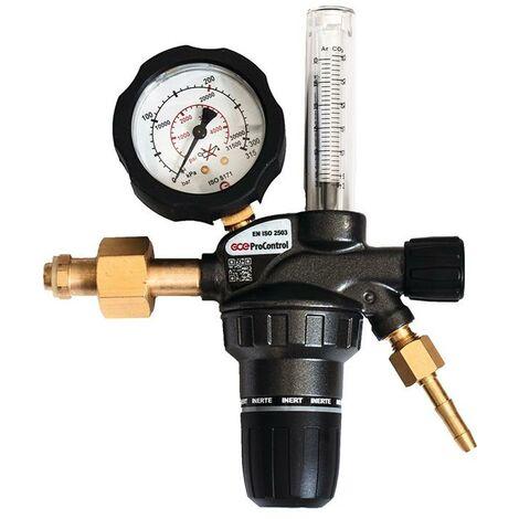 GCE Flaschendruckminderer Flaschendruckminderer ProControl® Flowmeter Argon / CO? 200 bar 1-stufig 16 l/min