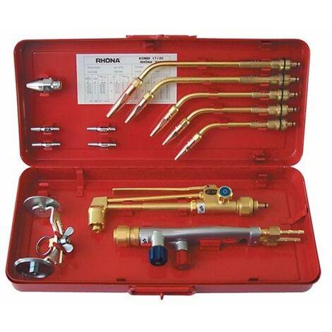 GCE Schweiß-/Schneidgarnitur RHÖNA 2001 AB Injektor M27x1,5mm 0,5-9mm, Acetylen