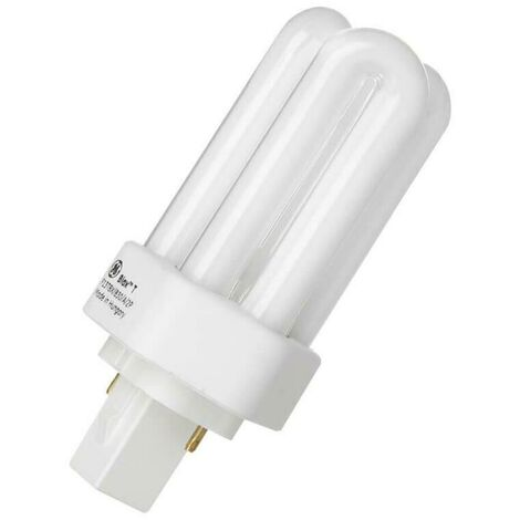 GE Lighting CFL LongLast PLT 13W 2-Pin Biax T Warm White Frosted