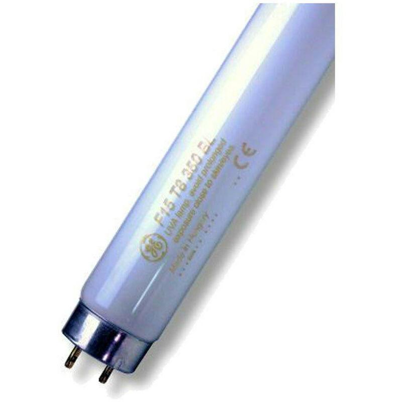 Image of Ultraviolet 18' T8 Tube 15W G13 UVA Blacklight Light - Ge Lighting