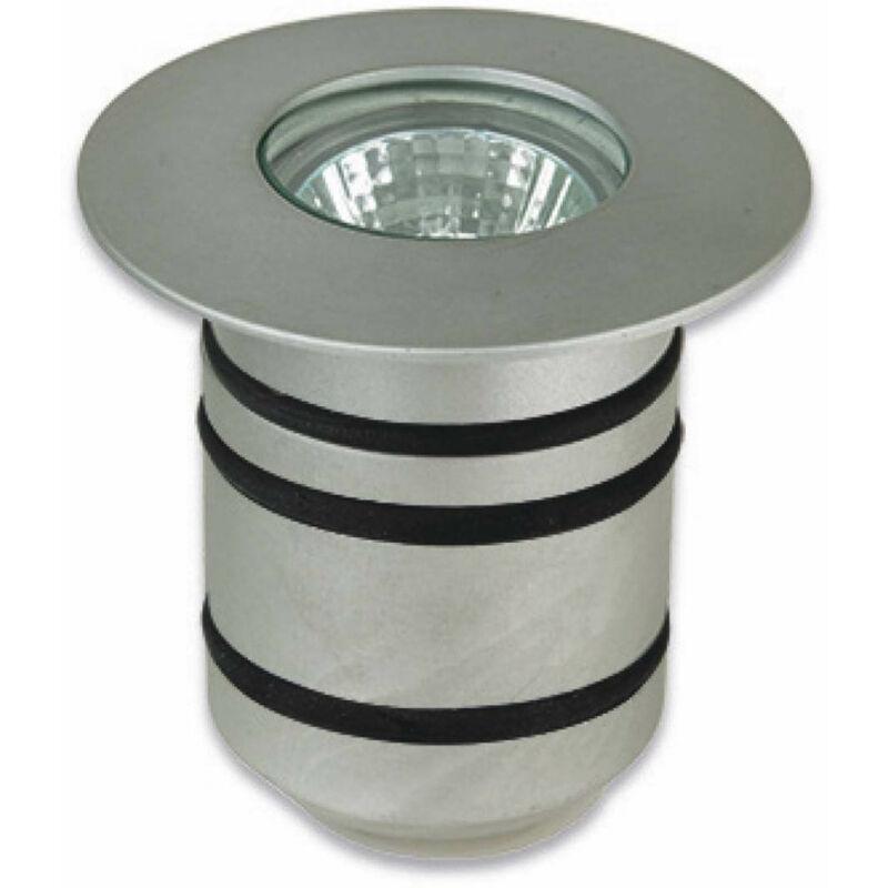 Gea, Gu4, Aluminium und Glas Einbaustrahler - 05-LEDS C4
