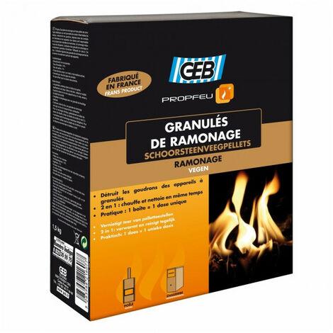 GEB - Granulés de ramonage - étui 1.5kg