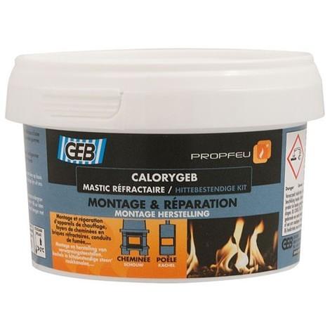 GEB - Mastic réfractaire Calorygeb - 300 g