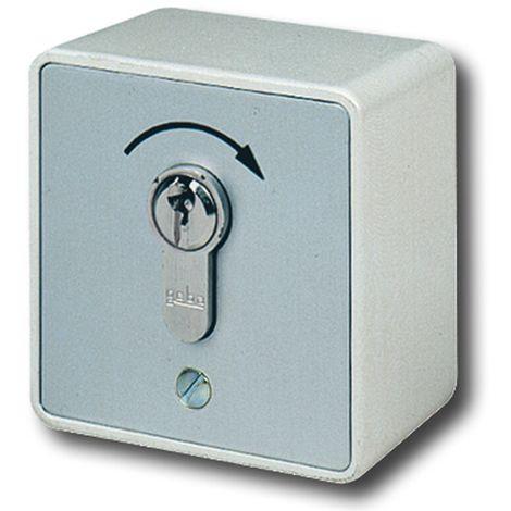 GeBa Schlüssel-Taster + PHZ Aufputz IP54 1-polig