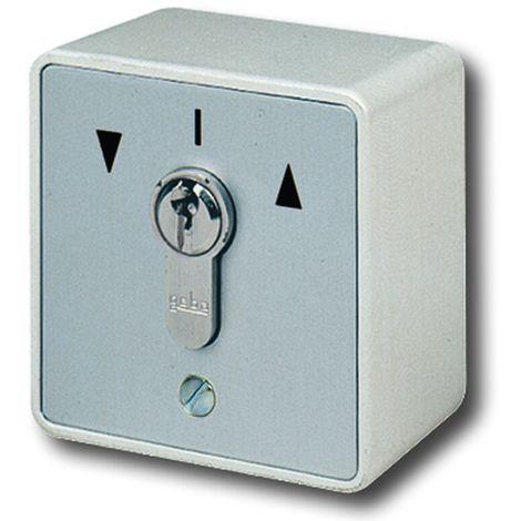 GeBa Schlüssel-Taster + PHZ Aufputz IP54 2-polig