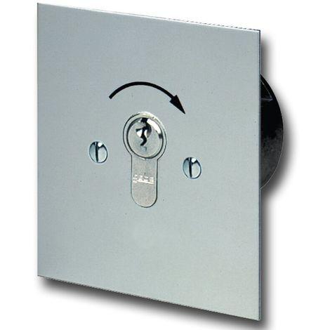 GeBa Schlüssel-Taster + PHZ Unterputz IP54 1-polig