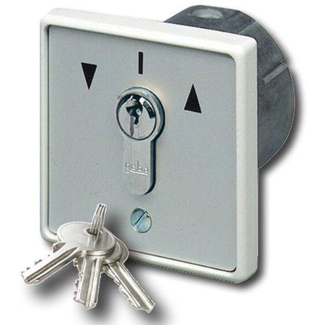 GeBa Schlüssel-Taster + PHZ Unterputz IP54 2-polig