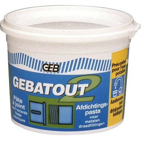 Gebatout 2 Pate a joint Tube 125 ml