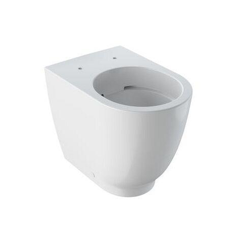 Geberit Acanto Stand-WC Tiefspüler, erhöht geschlossene Form, Rimfree, KeraTect, 500602018