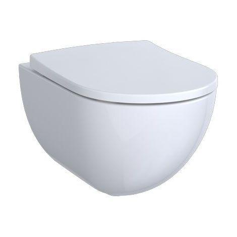 Relativ Geberit Acanto Tiefspül-Wand-WC ohne Spülrand weiß 500600012 ON73