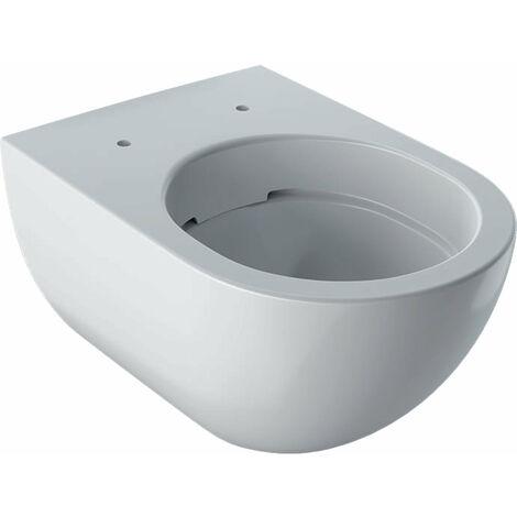 Geberit Acanto washdown WC, 500600, sin descarga, 4.5/6L, colgado en la pared, color: Blanco, con KeraTect - 500.600.01.8