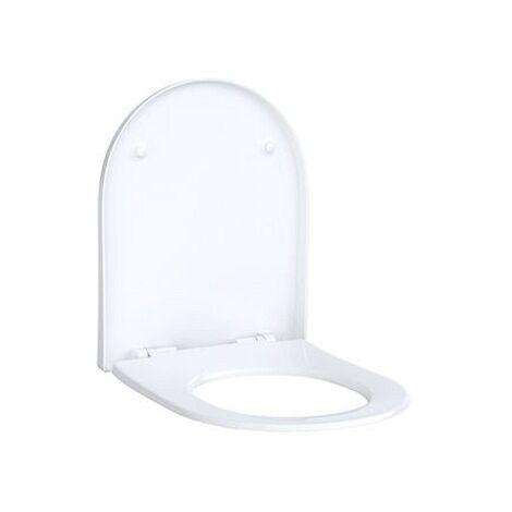 Geberit Acanto WC-Sitz mit Absenkautomatik Quick Release, antibakteriell, 500605012