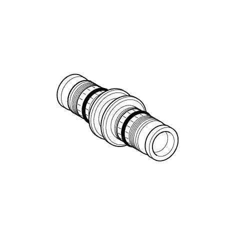 Geberit Accouplement Mepla 16 mm PVDF - 621505005