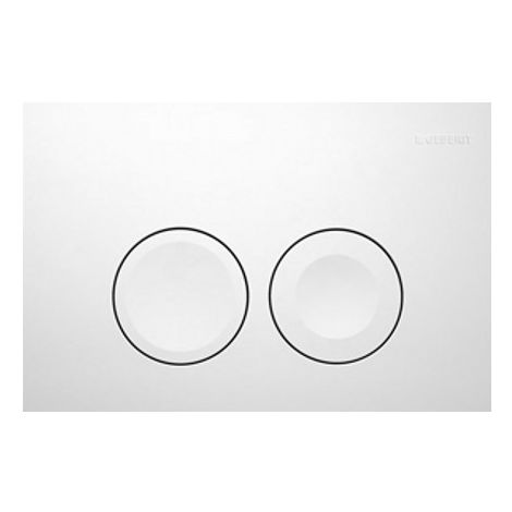 Geberit actuating plate Delta50 for 2-volume flushing