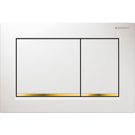 Geberit actuating plate Omega30, for 2-volume flushing