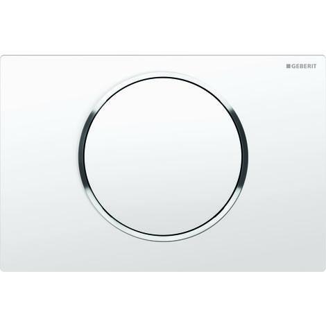 Geberit actuator plate Sigma10 for flush/stop flushing