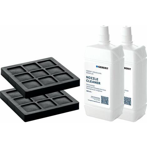 Geberit AquaClean kit de filtre et kit de nettoyage 2 pour système complet - 240.626.00.1