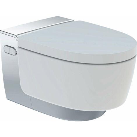 Geberit AquaClean Mera Classic Système de WC complet, encastré, WC mural, Coloris: Chromé brillant - 146.200.21.1