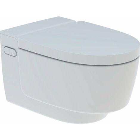 Geberit AquaClean Mera Comfort Sistema de WC completo, empotrado, WC mural, color: blanco-alpino - 146.210.11.1