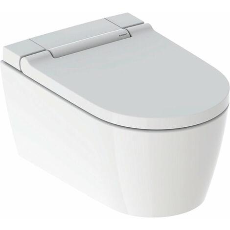 Geberit AquaClean Sela NOUVEAU système de WC complet WC mural, 146220, Coloris: blanc-alpin - 146.220.11.1