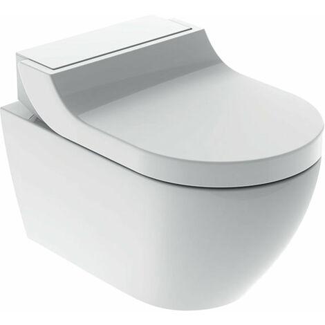Geberit AquaClean Tuma Comfort Système de WC complet, encastré, WC mural, Coloris: acier inoxydable brossé - 146.290.FW.1