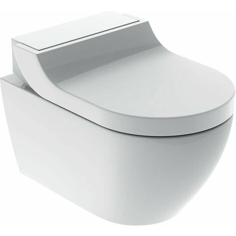 Geberit AquaClean Tuma Comfort Système de WC complet, encastré, WC mural, Coloris: blanc-alpin - 146.290.11.1