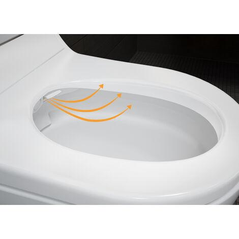 Geberit AquaClean Tuma Comfort Tuma Comfort Accessoire WC, Coloris: Verre Blanc - 146.270.SI.1