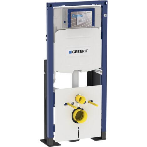 Geberit Bâti Support Duofix Pour Wc Suspendu 112 Cm Réservoir à Encastrer Sigma 12 Cm Autoportant Renforcé 111380005
