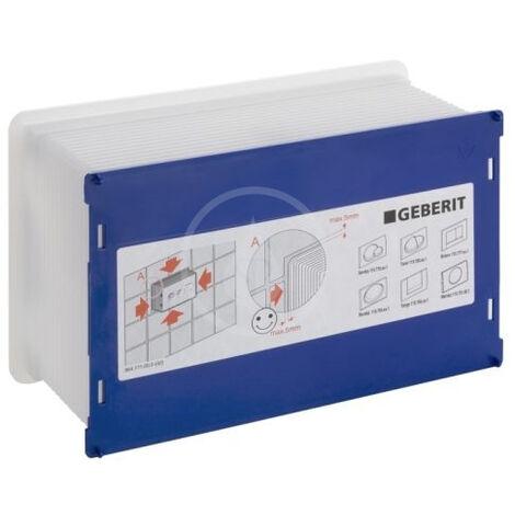 Geberit Boitier de protection, pour chasse d'eau encastrée Geberit Sigma pour UP320 (241.826.00.1)