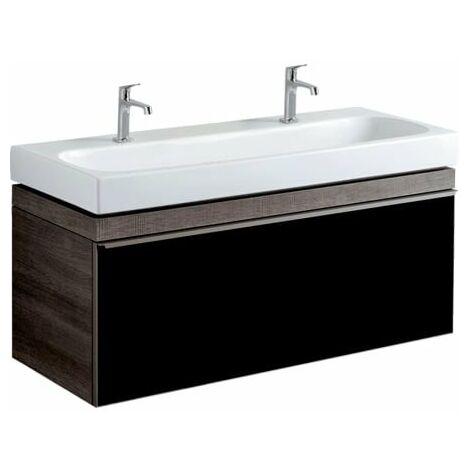 Geberit Citterio tocador 500566JJ1, 118.4x55.4x50.4cm, estructura de madera roble gris-marrón - 500.566.JJ.1