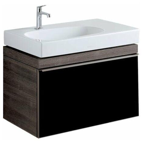 Geberit Citterio vanity unit 500557JJ1, 73.4x55.4x50.4cm, estructura de madera roble gris-marrón - 500.557.JJ.1