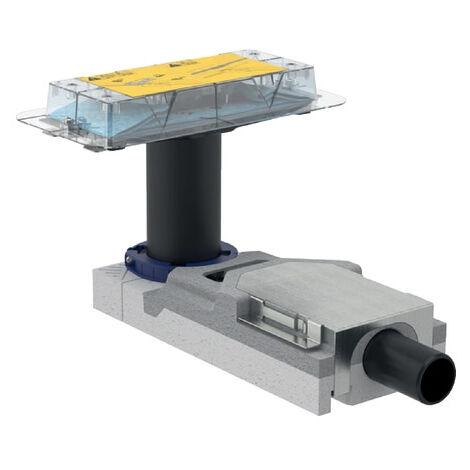 Geberit CleanLine Kit d'encastrement pour canivelles de douche, hauteur de chape à partir de 65mm (154.152.00.1)