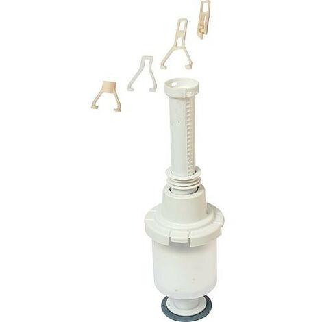 Geberit cloche universelle avec tube telescopique pour reservoir de chasse sous/sur crepi. 240.113.00.1
