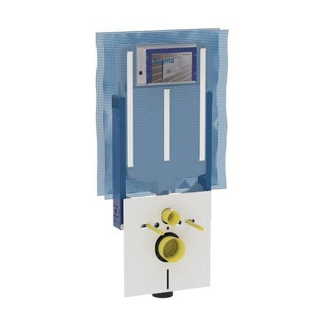 Geberit Combifix Italie réservoir sigma8 pour WC suspendu 109 cm (110.791.00.1)