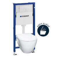 Geberit Complete pack toilets Geberit UP100 Solido (39186GEB1)