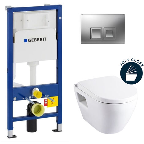 Geberit Complete pack toilets Geberit UP100 Solido (39186GEB2)